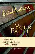 Establishing Your Faith